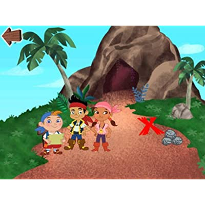 LeapFrog Disney Junior Jake and the Never Land Pirates Learning Game: Toys & Games