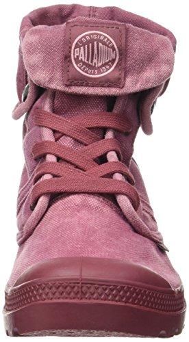 PalladiumUs Baggy W F - Zapatillas altas Mujer Rojo (Roan Rouge/pale Mauve)