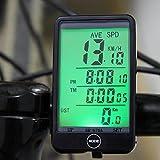 DAVEVY Universal Bike Stopwatch Multi-Functional Bicycle Computer Waterproof Odometer Speedometer Clock Digital Backlight Cycling Tracker