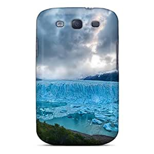 High Impact Dirt/shock Proof Case Cover For Galaxy S3 (blue Ice)