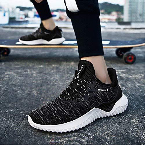 Scarpe da Uomo Estate Leggero Traspirante Tessuto Volante Scarpe da Ginnastica Sportive Scarpe da Corsa Come Mostrato