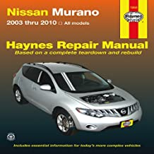 Nissan Murano 2003 thru 2010: All Models