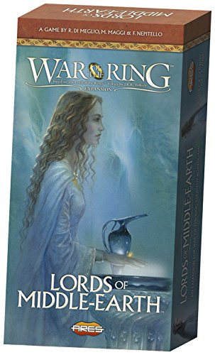 Lord Of The Rings War Game - War of the Ring Second Edition - Lords of Middle Earth Expansion