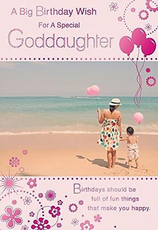 Big A Birthday Wish For A Special Goddaughter Beach Ballon Design