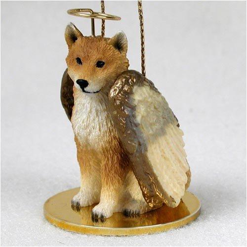 Conversation Concepts Shiba Inu Pet Angel Ornament