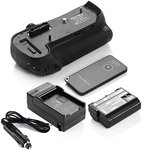 DS mb-d12バッテリーグリップ+ en-el15電池+充電器for Nikon d800d800e d810