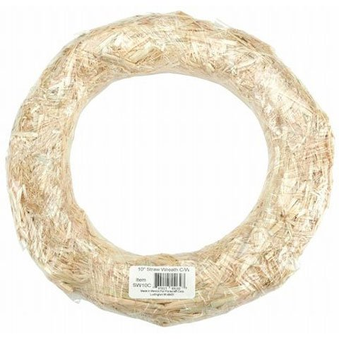 Better Crafts STRAW WREATH 10IN (15 pack) -