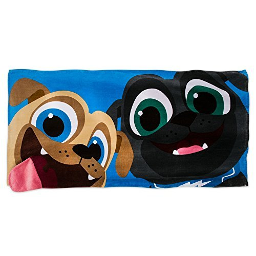 Disney Puppy Dog Pals Beach Towel for Kids - Blue by Disney