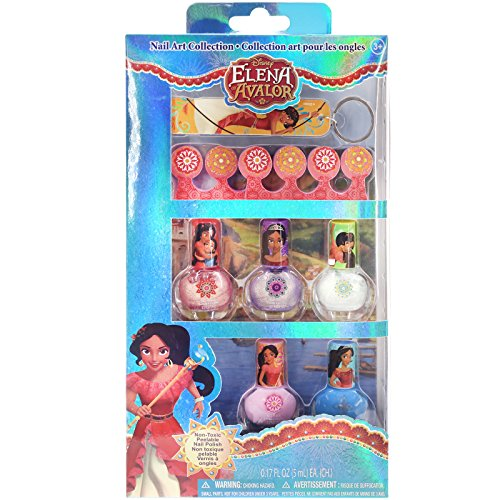 disneys-elena-of-avalor-peel-off-nail-polish-gift-set-for-kids-5-colors-toe-separators-nail-file