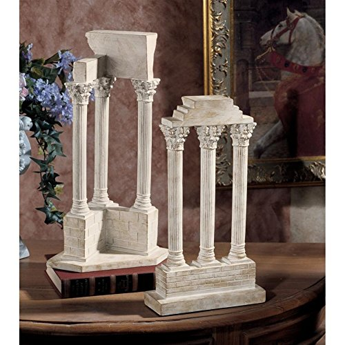 Used, Design Toscano Roman Forum Columns Set for sale  Delivered anywhere in USA