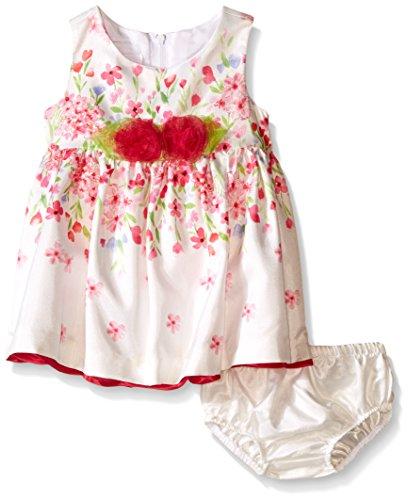 Sleeveless Bow Front Dress - 5