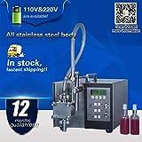 Yoli semi-automatic digital control liquid filling machine,electric mini filling machine for oil,shampoo,perfume,beverage,110V/220V
