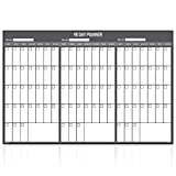 Wall Calendar Dry Erase Three Month Planner Young N Refined (24x36)