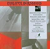 Philippe Boesmans: Violin Concerto/Conversions/Piano Concerto