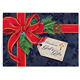 Personalized Friends are God's Gifts Christmas Card Set of 20