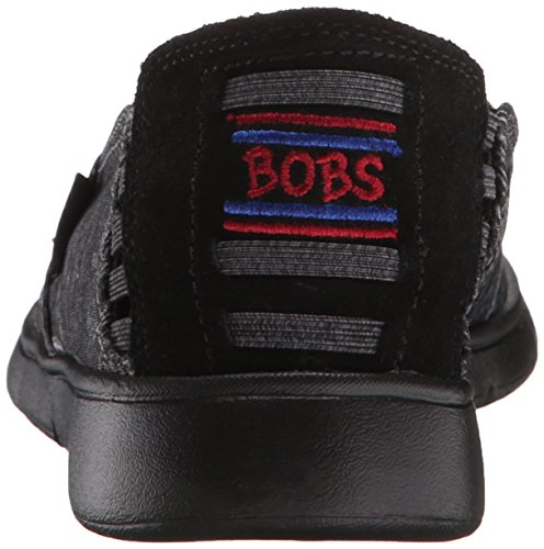 Skechers Heather Pureflex Flat Bobs Black 2 From Women's OBOqxwrg