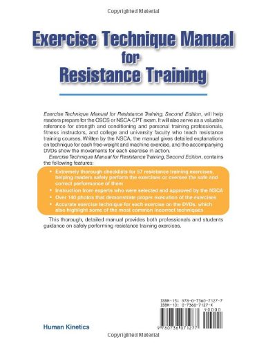 buy exercise technique manual for resistance training book dvd rh amazon in exercise technique manual for resistance training 3rd edition with online video exercise technique manual for resistance training pdf free