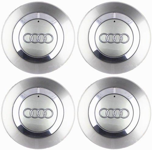 (Luck16888 4 OEM Wheel Center Cap 8E0601165 for Audi 2002-2007 Audi A4 B6 16