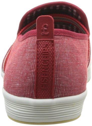 Base London Fry 2 - Zapatillas Rojo (Rouge (505 Textile Red))
