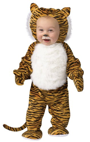 Little Boys' Cuddly Tiger Costume - L]()