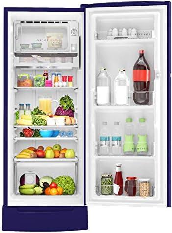 (Renewe) Whirlpool 215 L Inverter Direct-cool Single Door Refrigerator (230 Impro Roy 5s Inv Sapphire Abyss, 5 Star Rating, Black)