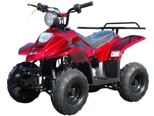 ATA-110B3 TaoTao Kids Gas 110cc Sport ATV - Burgundy by TaoTao