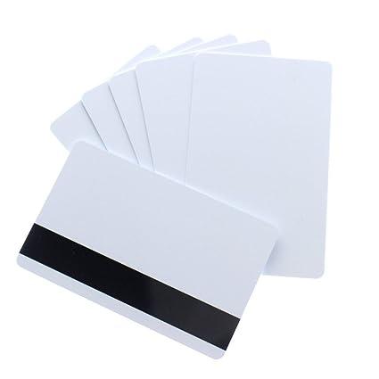 CR80 30 Mil Hico Magentic Stripes tarjeta para impresoras ...