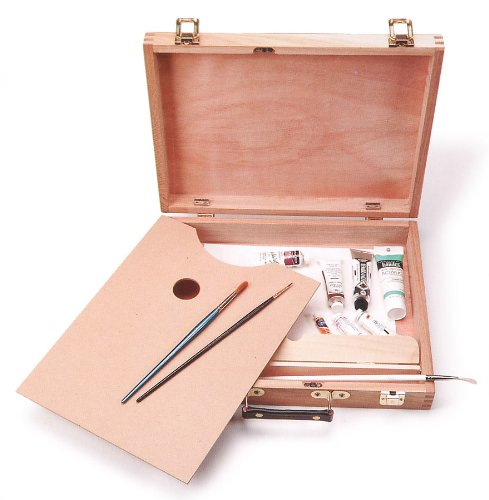 Darice 12-3/4-Inch-by-9-1/2-Inch Sketch Box with Palette by Darice