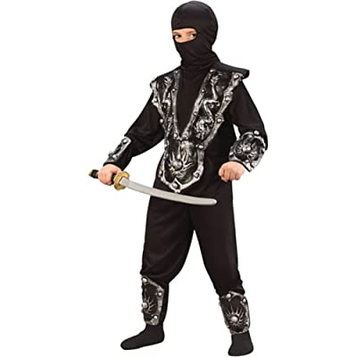 Ninja Warrior Costume Boy - Child (4-6): Clothing
