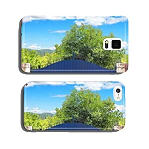 forest background on Portal cell phone cover case Samsung S5
