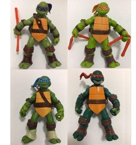 Teenage Mutant Ninja Turtles 4pcs Action Figure Collection Movie Toy Kids Gift