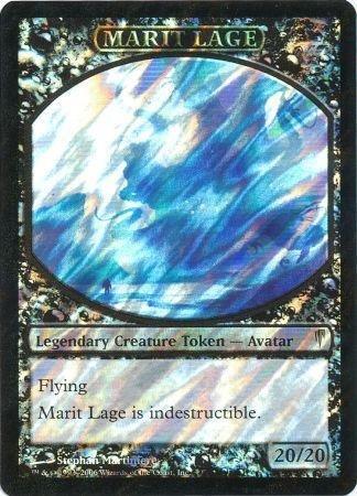 Magic: the Gathering - Marit Lage token - Prerelease & Release Promos - Foil