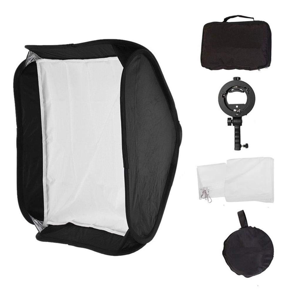 Senyar Photography Universal Folding Lightweight Quick Release Flash Diffuser Softbox Reflector(6060cm)