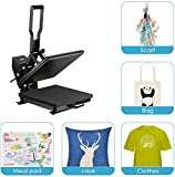 TUSY Heat Press Machine 15x15 inch Digital