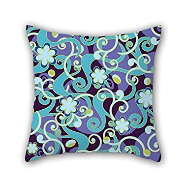 NICEPLW The Flower Throw Pillow Case Of ,16 X 16 Inches / 40 By 40 Cm Decoration,gift For Him,saloon,teens Girls,home Theater,bench,shop (2 Sides)