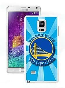 New Custom Design Cover Case For Samsung Galaxy Note 4 N910A N910T N910P N910V N910R4 golden state warriors 4 White Phone Case