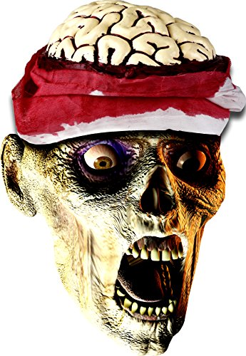 Zombie Halloween Costumes (Kangaroo's Halloween Accessories - Zombie Brain Cap)