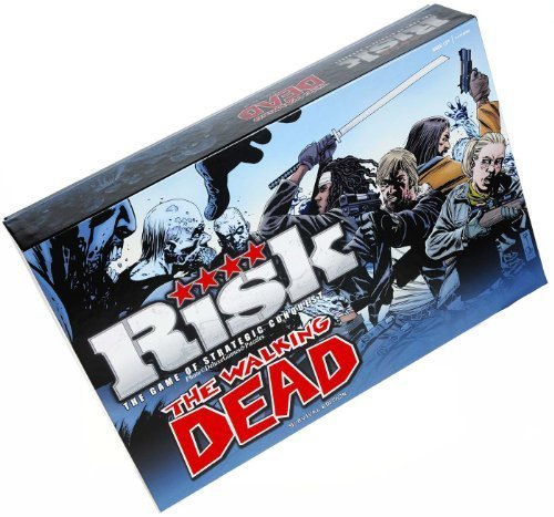RISK The Walking Dead Survival Edition Board Game by USAopoly Games and Puzzles