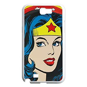 High Quality -ChenDong PHONE CASE- For Samsung Galaxy Note 2 Case -SuperHero Wonder Woman-UNIQUE-DESIGH 4
