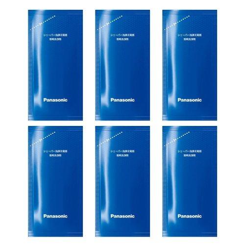 【Amazon.co.jp限定】Panasonic ラムダッシュ シェーバー洗浄充電器専用洗浄剤(6個入り) ES-4L06A