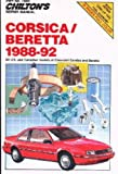 CH7849 Chilton Chevrolet Corsica and Beretta 1988-1992 Repair Manual