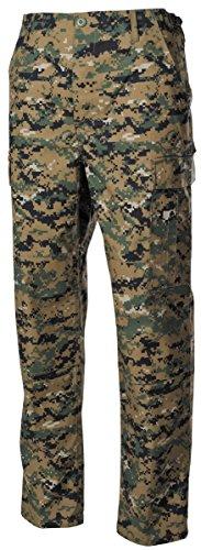 US Pantalon de champ, ACU, Rip Stop - Numérique Woodland, 36