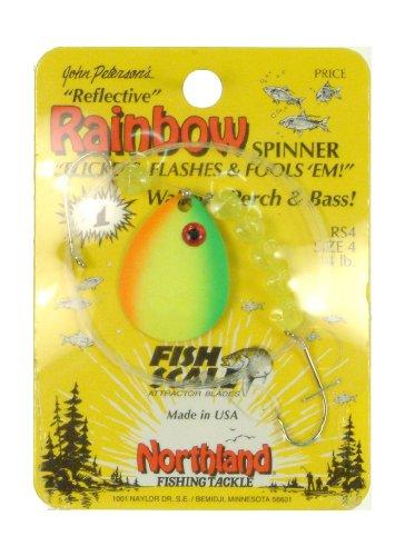 - Northland Tackle Mr. Walleye Crawler Hauler Colorado Rig, Firetiger, 4 Hook