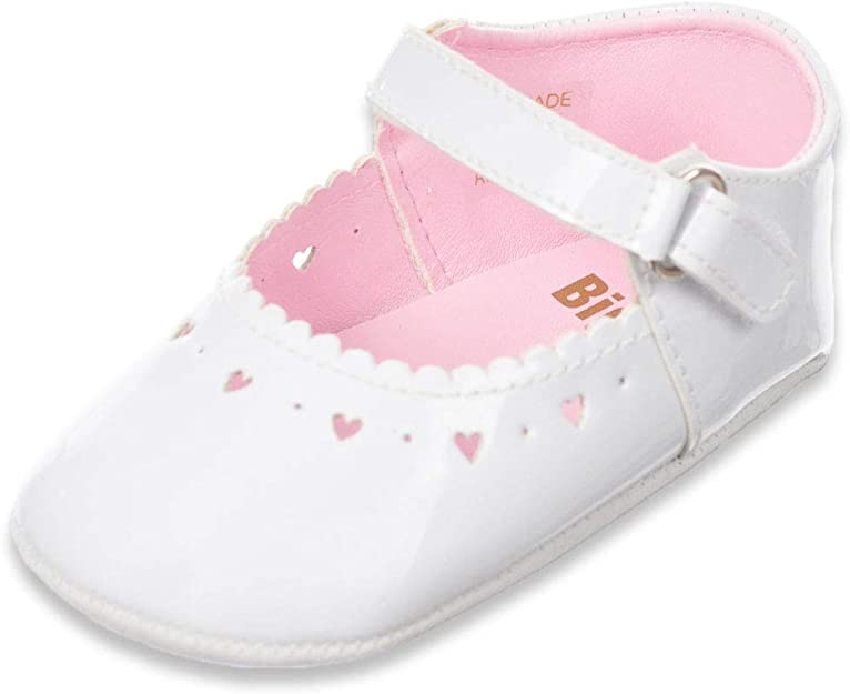 Baby Girls Toddler Tassel Bowknot Crib Shoes Faux Leather Princess Sneakers Soft