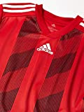 adidas mens Striped 19 Jersey Power Red/White Medium