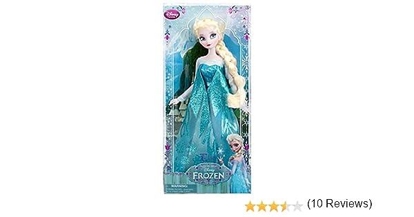 a52c84683 Amazon.es  Disney Store  Muñeca Frozen Elsa (30 cm)  Juguetes y juegos