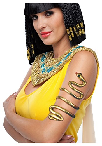Gold Egyptian Armband Gold Standard, Beige, Standard -