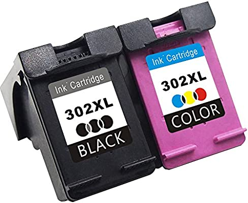 TooTwo Remanufacturado Reemplazo para HP 302XL 302 XL Cartuchos de Tinta Compatible con HP Envy 4520 4524 4525 Officejet 3830 3831 4650 4658 Deskjet ...