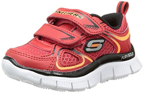 Skechers Flex Advantage Mini Rush - Zapatillas, Niños Rojo