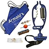 Armaid COMPLETE Foam Massage Tool | Self Myofascial Release Roller | Tennis Elbow Treatment | RSI Therapy | Therapeutic Trigger Point Hand Muscle Foam Roller | Forearm Exerciser | Arm Aid Massager